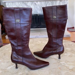 Arnold Churgin Leather Heeled Boots